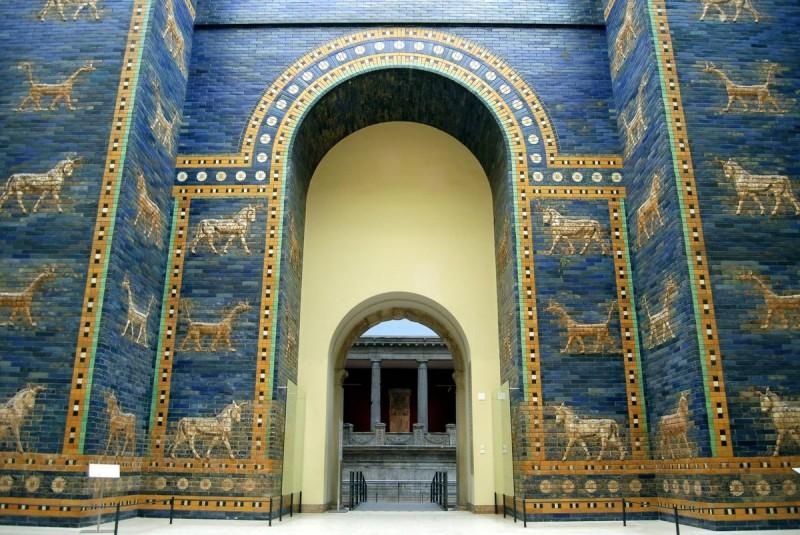 Ворота Иштар из Вавилона