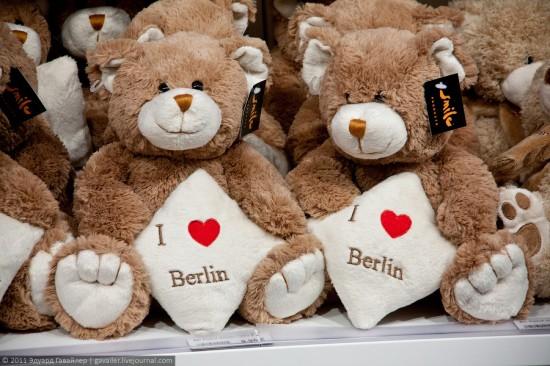 Что привезти из Берлина - плюшевые медведи
