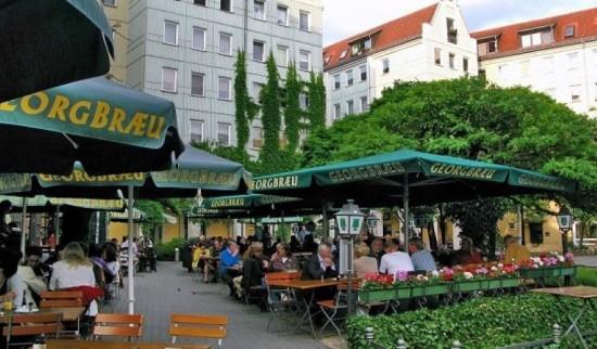 Пивная Georgbrau в Берлине (1)