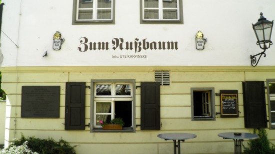 Zum Nussbaum, The oldest restaurant in berlin (established in 1507)