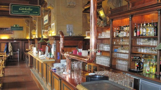Пивная  Brauhaus Lemke в Берлине (1)