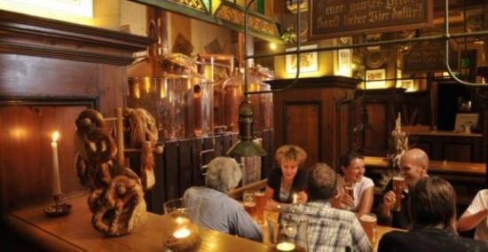 Пивная  Brauhaus Lemke в Берлине (3)