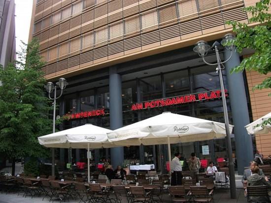 Пивная Mommseneck am Potsdamer Platz в Берлине (4)