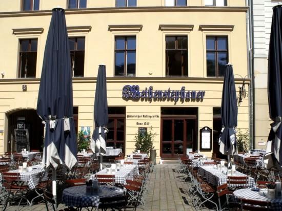 Пивная Weihenstephaner в Берлине  (2)