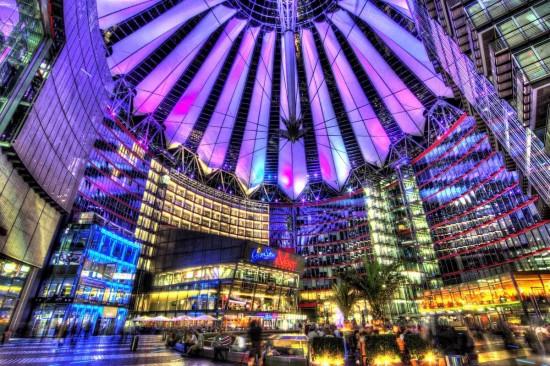 Сони-Центр в Берлине