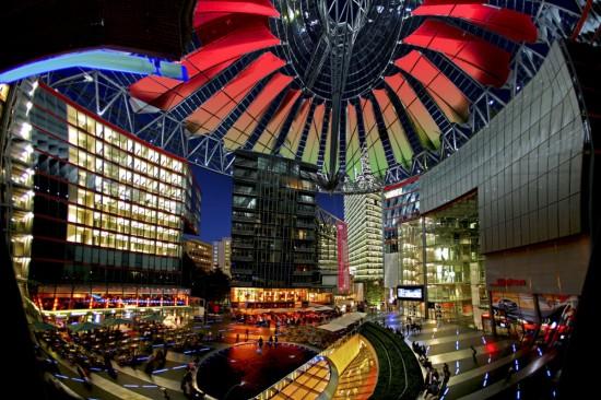 Сони-Центр в Берлине2