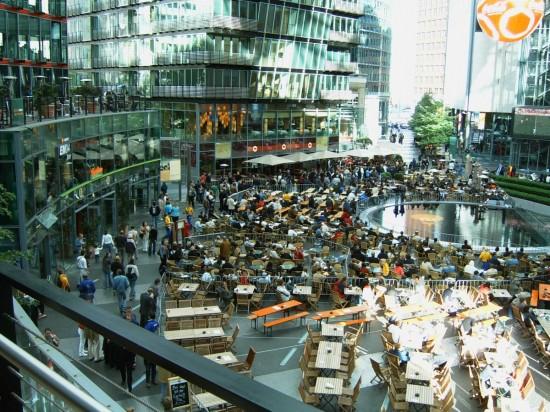 Сони-Центр в Берлине4