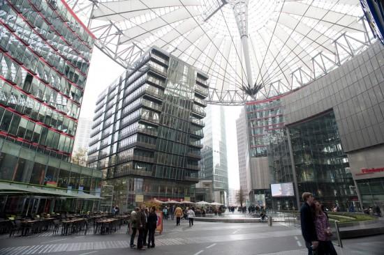 Сони-Центр в Берлине5