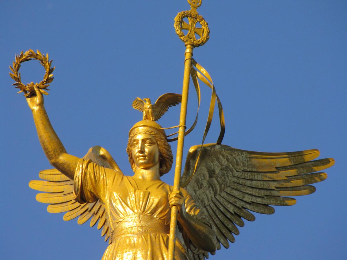 Богиня победы картинки